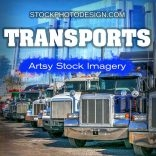Modern Transportations Means Imagery