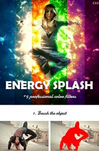 Energy Splash Artistic Photoshop Special Effect