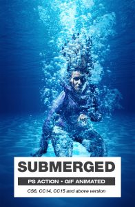 Submerged Artistic Photoshop Special Effect