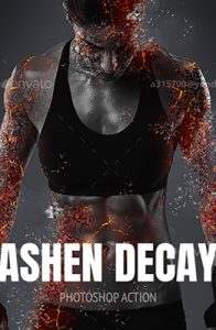 Ashen Decay Photoshop Special Effect Photo