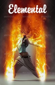 Elemental Photoshop Special Effect Photo