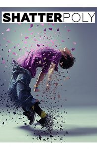 ShatterPoly Photoshop Special Effect Photo