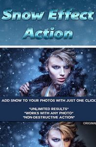 Snow Effect Photoshop Special Effect Photo