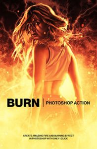 burn Photoshop Special Effect Photo