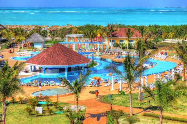 Caribbean Resort - Stock Photo