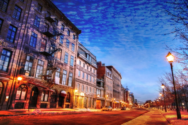 Old Montreal City 01