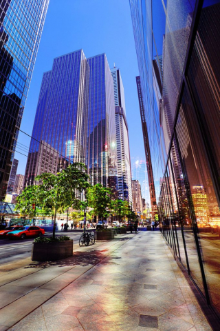 Downtown Office Street 4 - Stock Photo