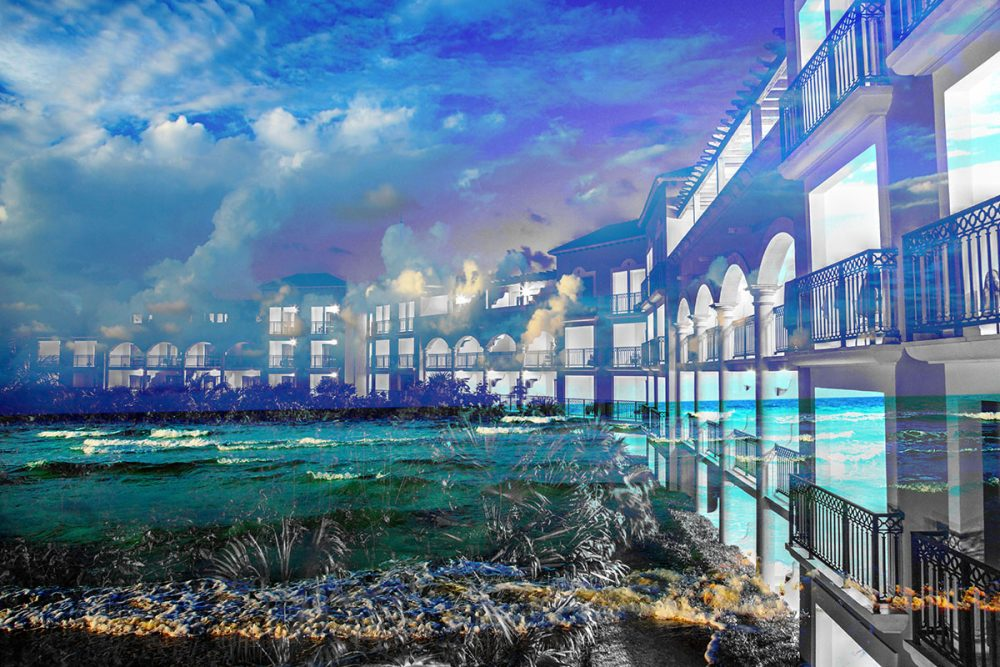 Hotel Resort Photo Montage 01