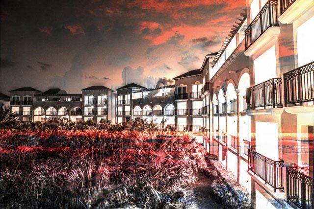 Hotel Resort Photo Montage 02 - Stock Photo