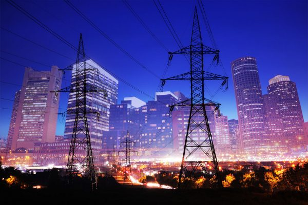 Urban Energy 2 - Stock Photo