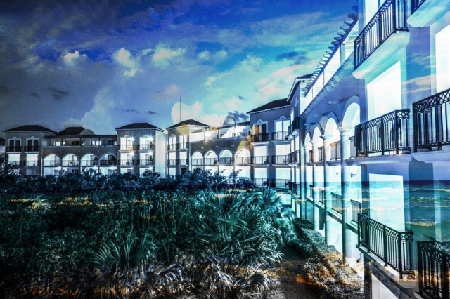 Hotel Resort Photo Montage 03 - Stock Photo
