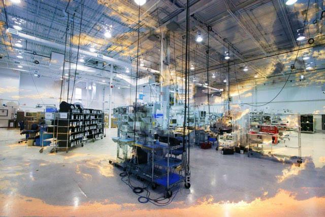 Industry Inside 1 - Stock Photo