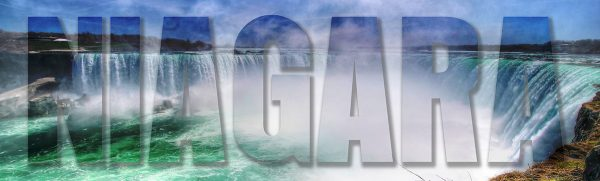 Niagara Text 1 - Stock Photo
