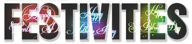 Festivities Text Image