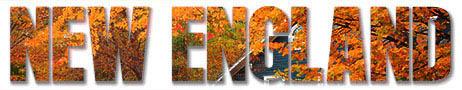 New England Text Image