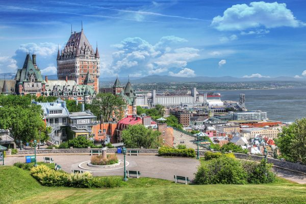 Old-Quebec-City-District-in-Summer Image