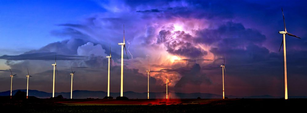 Windmill Energy Production 02 - Stock Photo