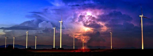 Windmill Energy Production 02 - Stock Photo