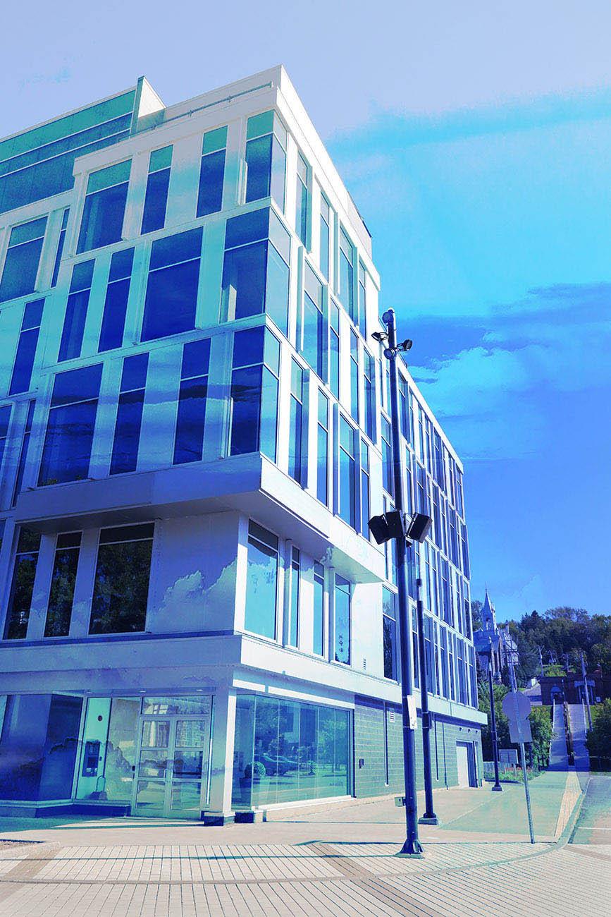 Street Corner Office Building 01 - Stock Photo